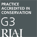 RIAI Conservation Architects Logo
