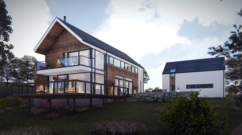 Mccabe architects leading architecture firm in donegal for Modern irish house architecture