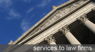 services to law firms